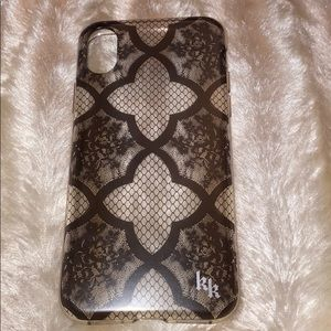 Kendall and Kylie lace iphone x case